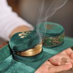 祛湿寒、无烟雾:康草堂 家用无烟纯铜艾灸盒 68元包邮 (148-80)