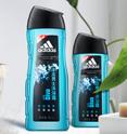 adidas 阿迪达斯 男士冰点沐浴露 400ml+250ml + 浴球 券后20元包邮 (35-15)