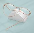 【专业配镜】沙乐华 散光钛架近视眼镜(可配0-800度) 淘礼金+券后43.8元包邮